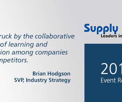 Innovation and Transportation - Supply Chain Brief